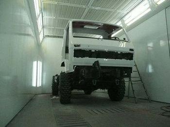 Ремонт и покраска грузовых кабин